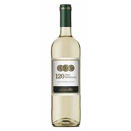 Vino Blanco Sauvignon Blanc 750 Ml 120 Tres Medallas