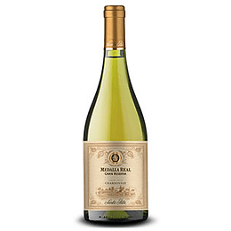Vino Blanco Chardonnay Gran Reserva 750 Ml Medalla Real