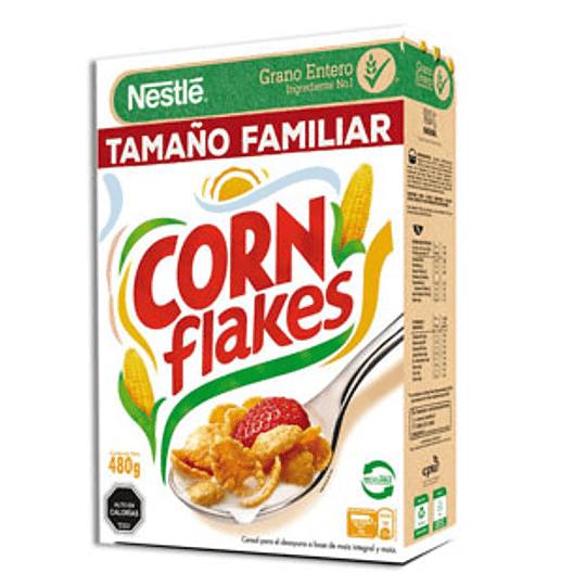 Cereal Corn Flakes 480 Gr Nestle