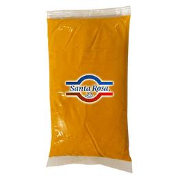 Aderezo de Queso Cheddar Bolsa 1 Kg Santa Rosa Refrigerado