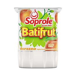 Yogurt Batifrut Durazno Pack 4 X 165 Gr Soprole