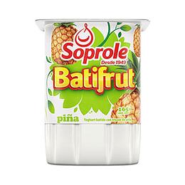 Yogurt Batifrut Piña Pack 4 X 165 Gr Soprole