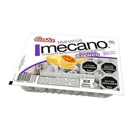 Huevitos Chocolate Blanco Mecano 20 Unidades Costa
