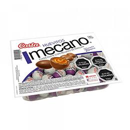 Huevitos Chocolate Manjar Mecano 20 Unidades Costa