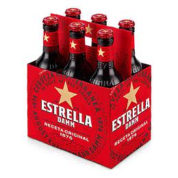 Cerveza Botella Pack 6 X 330 Ml Estrella Damm