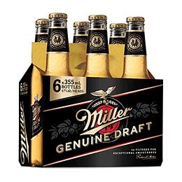 Cerveza Botella Pack 6 X 355 Ml Miller