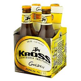 Cerveza Botella Golden Pack 4 X 330 Ml Kross
