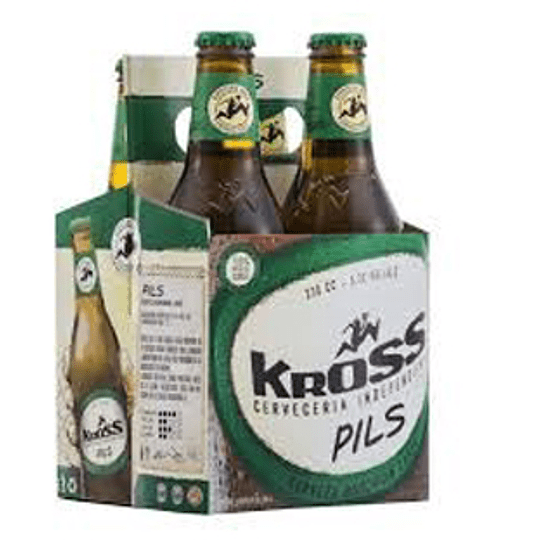 Cerveza Botella Pils Pack 4 X 330 Ml Kross