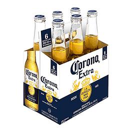 Cerveza Lager Botella 6 X 330 Ml Corona