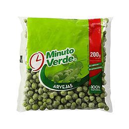 Arveja Mini Iqf 200 Gr Minuto Verde