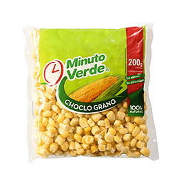 Choclo Iqf 200 Gr Minuto Verde