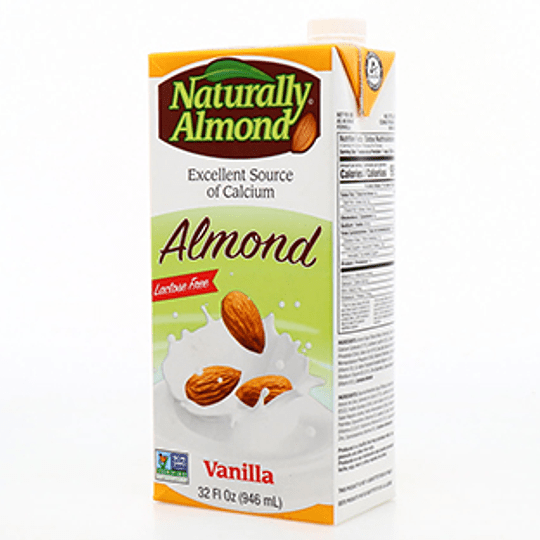 Leche de Almendra 946 Ml Naturally Almond