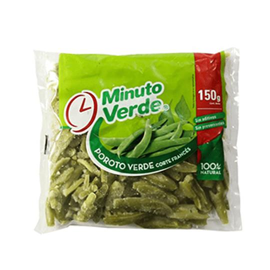 Poroto Verde Corte Frances Iqf 150 Gr Minuto Verde