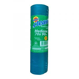 Bolsa Basura 70 X 90 Cm 10 Unid Clean