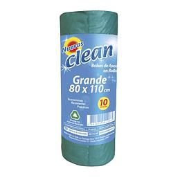 Bolsa Basura 80 X 110 Cm 10 Unid Clean