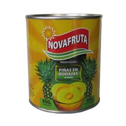 Piña en Rodaja 820 Gr Novafruta