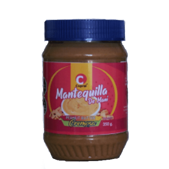 Mantequilla De Mani Creamy 350 Gr Copral