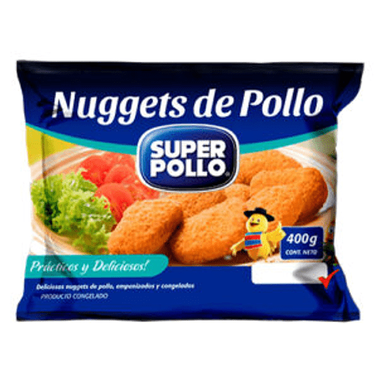 Nuggets de Pollo  400 Gr Agrosuper