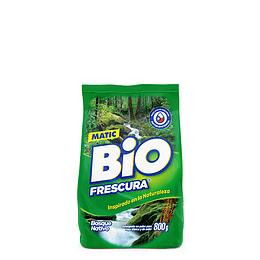 Detergente en Polvo Matic 800 Gr Bio Frescura