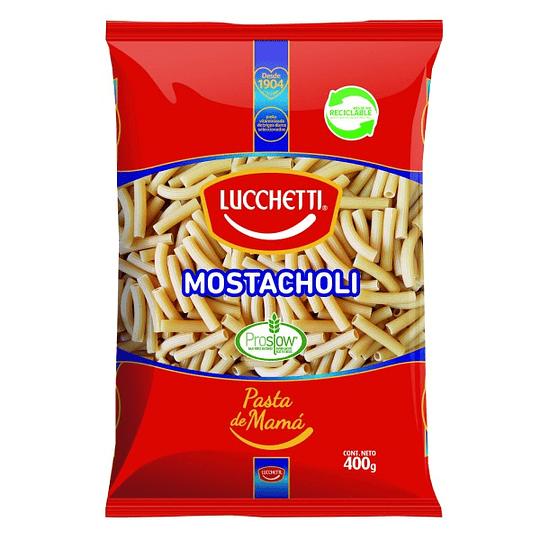 Fideos Mostacholi N° 42 400 Gr Lucchetti