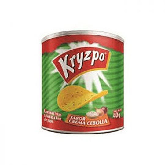Papas Fritas Crema Cebolla 37 Gr Kryzpo