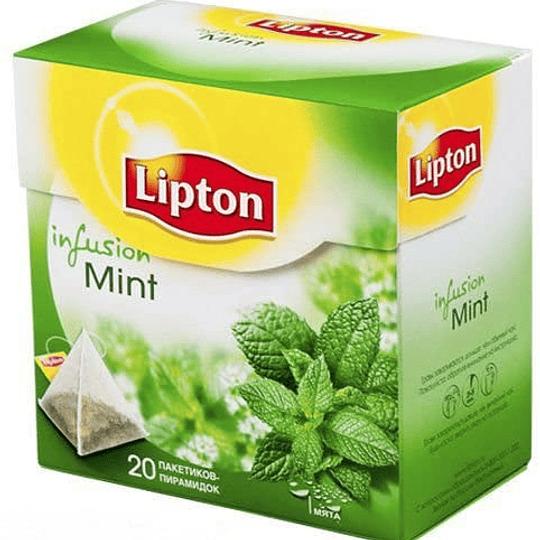 Te Piramide Green Tea & Intense Mint  25 Bols Lipton
