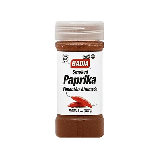 Paprika Ahumada Frasco 57 Gr Badia