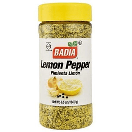 Pimienta Limon Frasco 184 Gr Badia