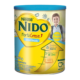 Nido Forticrece descremada 1560 Gr Nestle