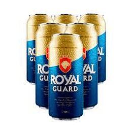Cerveza Lata Pack 6 X 470 cc Royal Guard