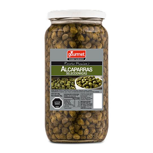Alcaparras Frasco 1000 Gr Gourmet
