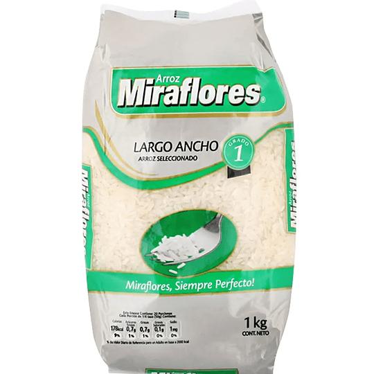 Arroz G1 1 Kg Miraflores