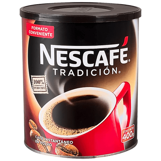 Cafe Tradicion Lata 400 Gr Nescafe