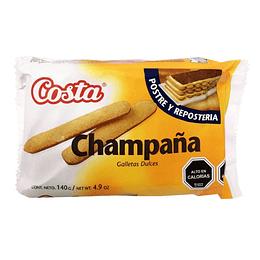 Galleta Champaña Unidad 140 Gr Costa