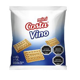 Galleta Mini Vino Caja 30 Unidades 40 Gr Costa