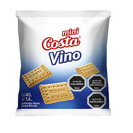 Galleta Mini Vino 40 Gr Costa