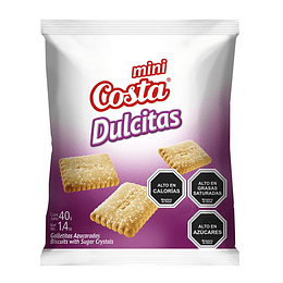 Galleta Mini Dulcitas 40 Gr Costa