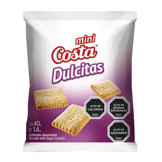 Galleta Mini Dulcitas Caja 30 Unidades 40 Gr Costa