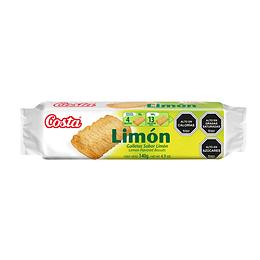 Galleta De Limon Unidad 140 Gr Costa