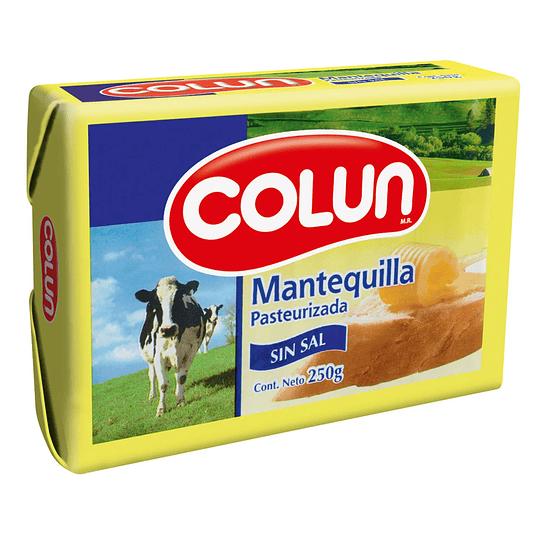 Mantequilla Sin Sal 250 Gr Colun