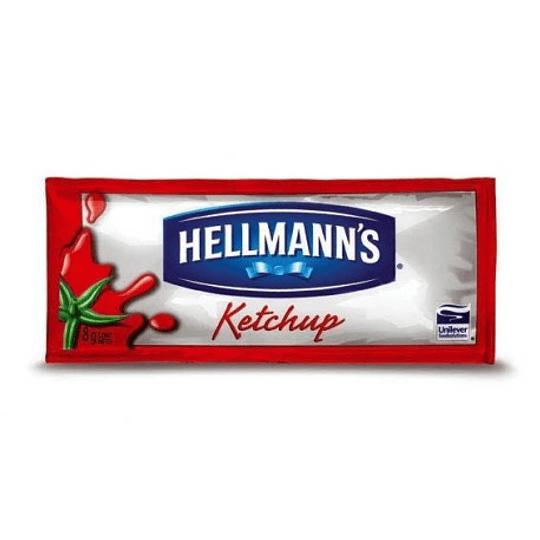 Ketchup Sachet 528 x 8 Gr Hellmanns Caja