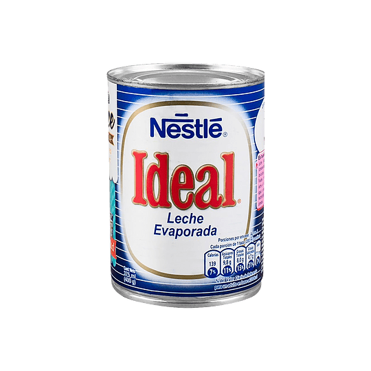 Leche Evaporada Ideal 400 Gr Nestle