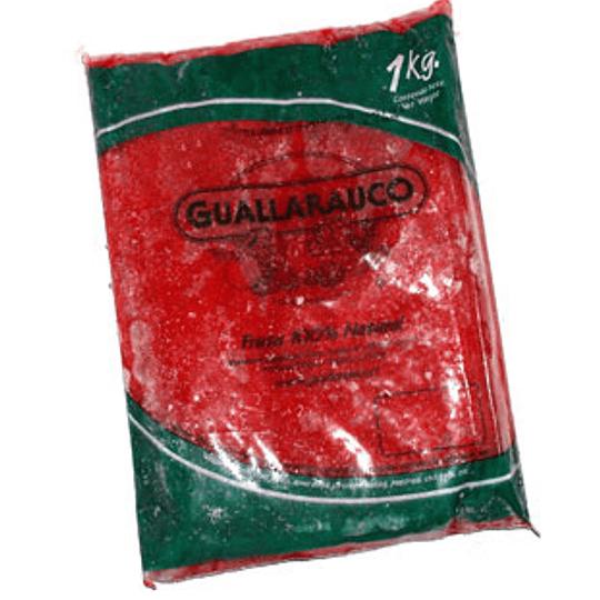 Pulpa Frambuesa 1 Kg Guallarauco