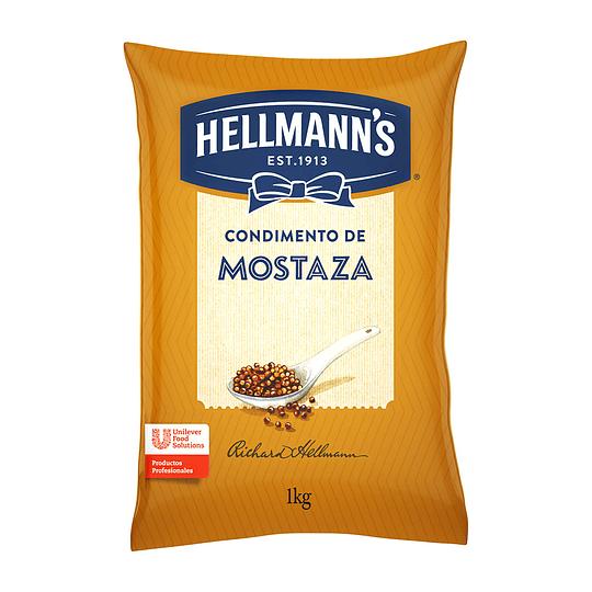 Mostaza 1 Kg Hellmanns