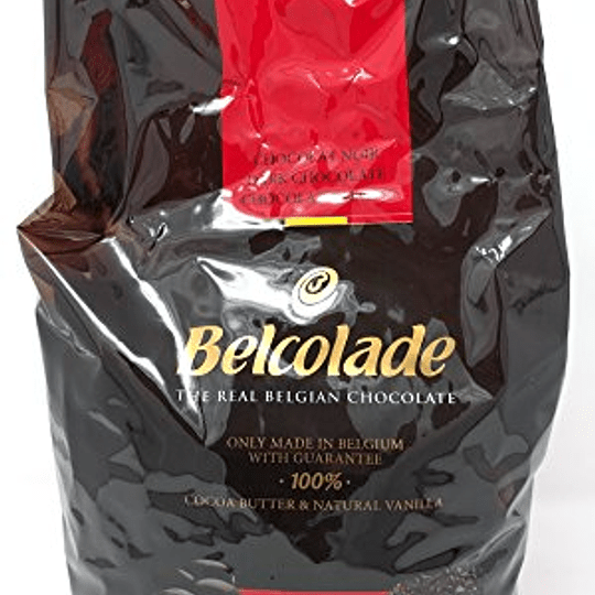 Chocolate Amargo 55% Cacao 5 Kg Belcolade