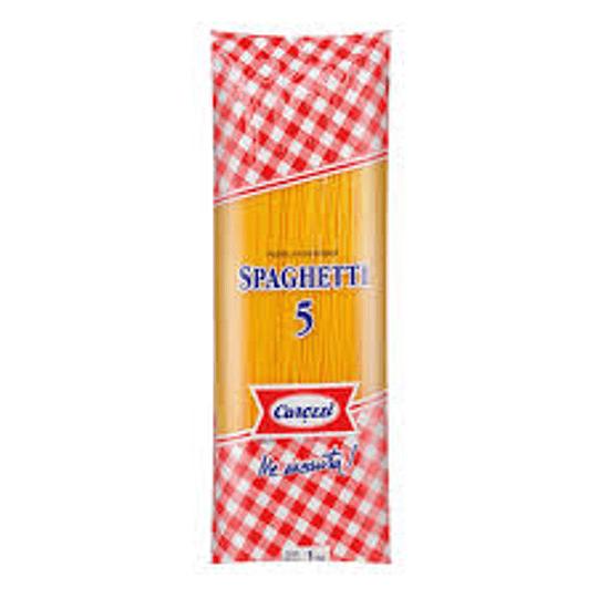 Fideos Spaguetti N° 5 1 Kg Carozzi