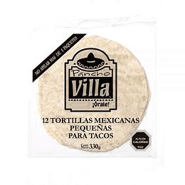 Tortillas 18 Cm Paquete de 12 Unidades Pancho Villa