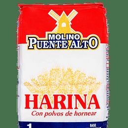Harina Con Polvos 1 Kg Puente Alto