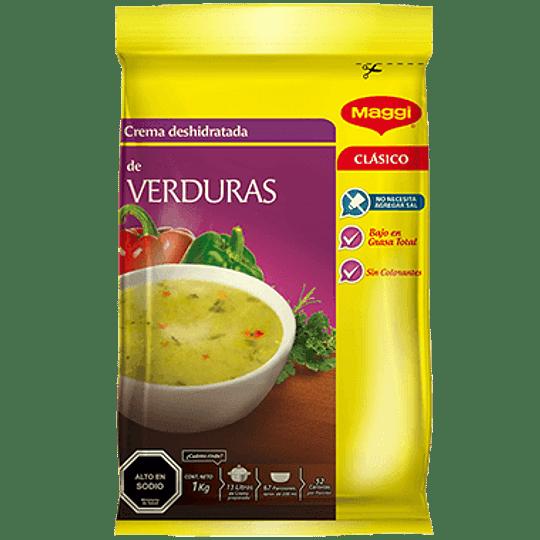 Crema Deshidratada Verduras 1 Kg Maggi