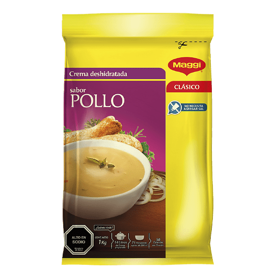 Crema Deshidratada Pollo 1 Kg Maggi